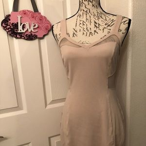 🌺EXPRESS BLUSH PINK BODYCON DRESS SIZE 6